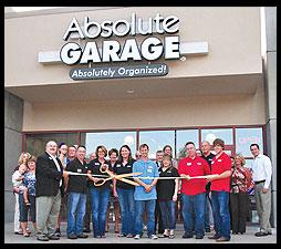 Absolute Garage Closets Holds Ribbon Cutting In Omaha, Nebraska