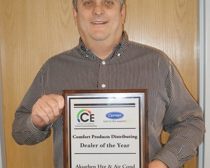 Aksarben Ars Recognized As Carrier Dealer Of The Year In