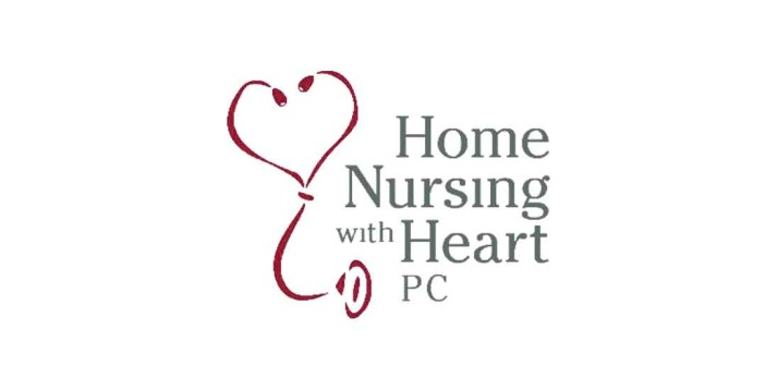 Home Nursing with Heart logo