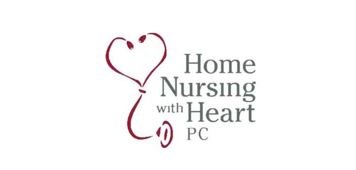 Home Nursing with Heart logo