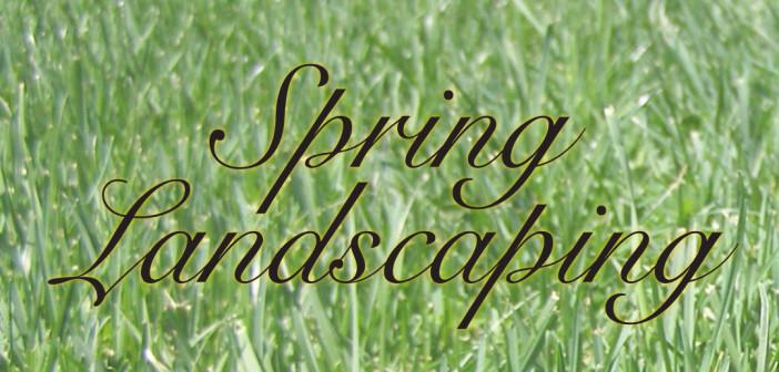 Spring Landscaping in Omaha, NE