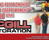 McGill Restoration – Building Relationships Through Craftsmanship for Over 30 Years