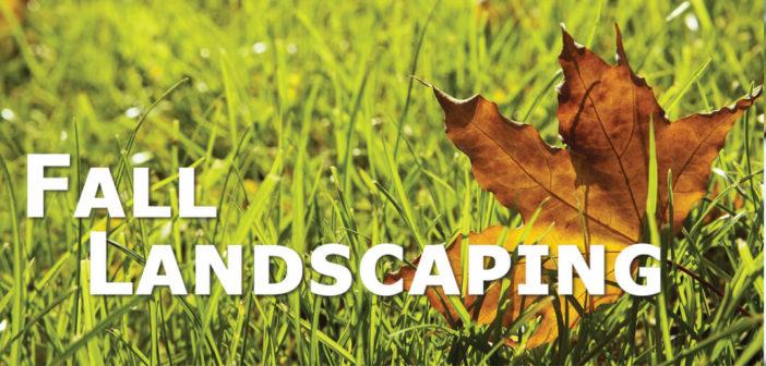 Fall Landscaping in Omaha, NE