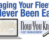 Now You Know Fleet Management – Managing Your Fleet Has Never Been Easier