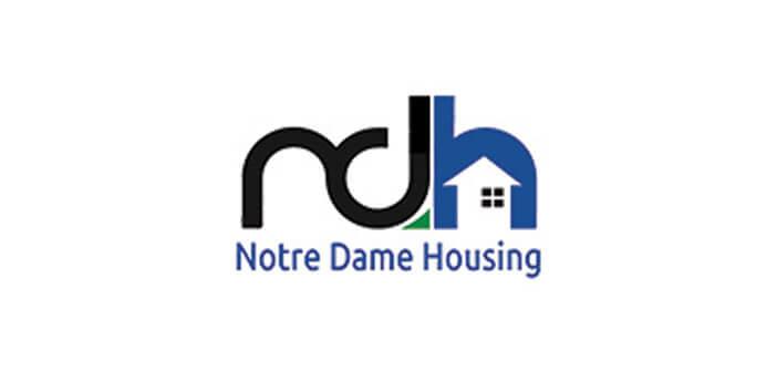 Notre Dame Housing - Logo