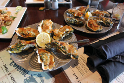 Travel Series Destination San Diego - Duck Dive Oysters Rockefeller