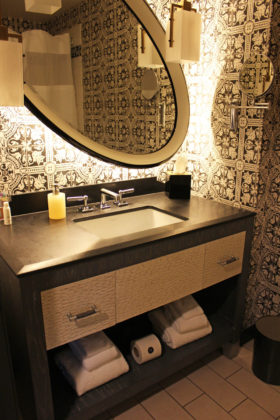 Travel Series Destination San Diego - Kimpton Solamar - Vanity