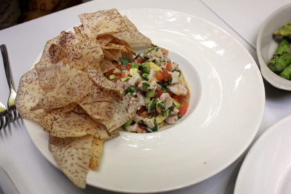Travel Series Destination San Diego - Parq Restaurant Ceviche