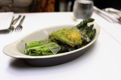 Travel Series Destination San Diego - Parq Restaurant Grilled Asparagus
