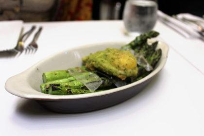 Travel Series Destination San Diego - Parq Restaurant Grilled Asparagus