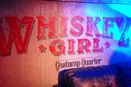 Travel Series Destination San Diego - Whiskey Girl Gaslamp Quarter
