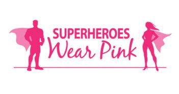 Superheroes Wear Pink-Logo