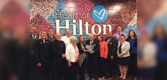 Hilton Omaha AAA Four Diamond Award