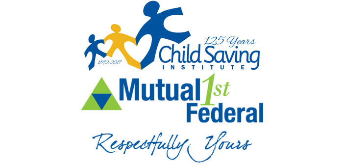 Child Saving Institute-Mutual 1st Federal-Logo