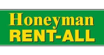 Honeyman Rent-All logo