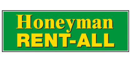 Honeyman Rent-All logo