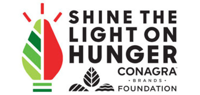 Shine the Light on Hunger logo