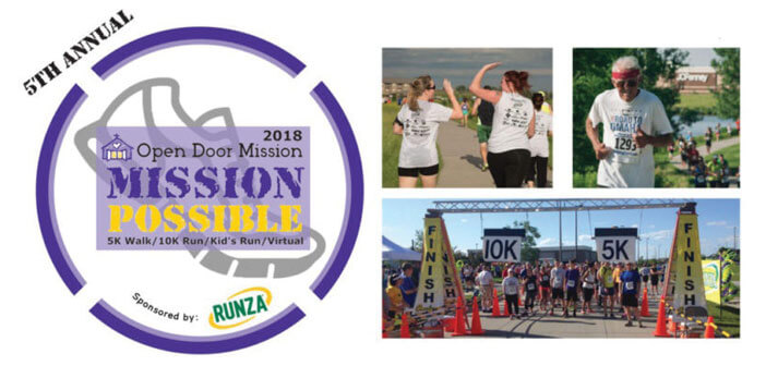 Open Door Mission to Host 5th Annual Mission Possible 5K/10K Run  sc 1 st  Strictly Business | Omaha & Open Door Mission to Host 5th Annual Mission Possible 5K/10K Run
