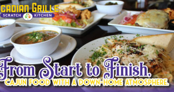 Acadian Grille – Cajun Food With A Down-Home Atmosphere.