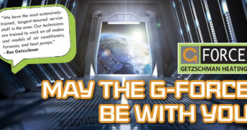 Getzschman Heating, LLC – May The G-Force Be With You