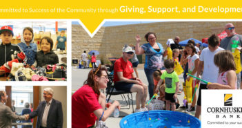 Cornhusker Bank – Committed to Success of the Community through Giving, Support, and Development