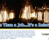 Langer Electric – It's More Than a Job…It's a Relationship.